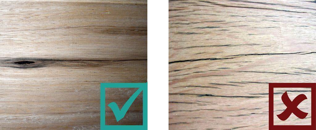 Sculptform Timber Grading - Checking Standard